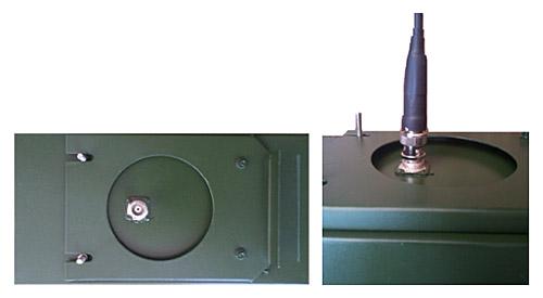 Microwave transmitter modulus