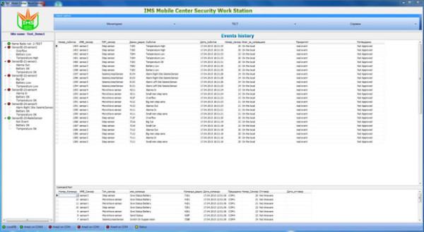 Program main table screen
