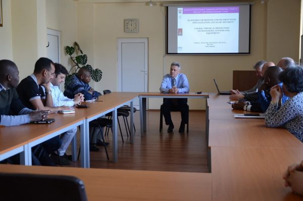 Professor Dr. Eng. Kiril Stoichev, DSc. (Econ.) marks the beginning of the course